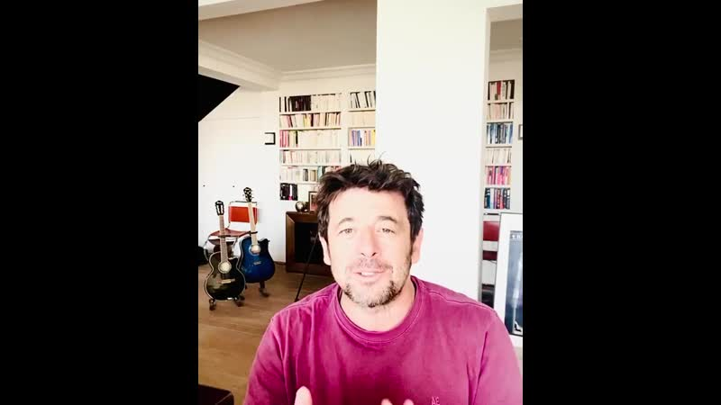 Patrick Bruel_Annonce Stand up at home_01.04.2020