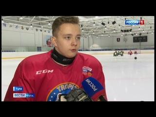 Тульский следж-хоккеист получил золотой знак ГТО