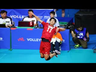 Best left handed volleyball players in the world (hd)