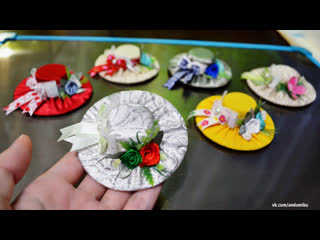Шляпки на магнитах | Своими руками | Мастер-класс | Рукоделие