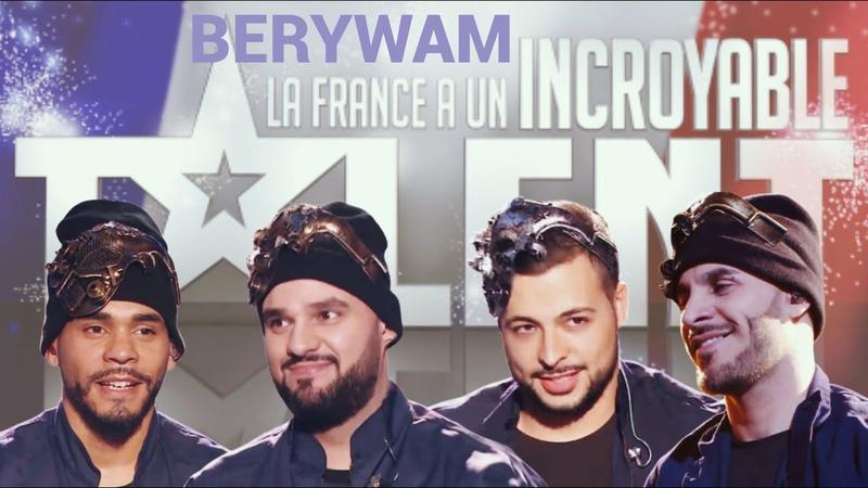 Berywam Robot Beatbox Final French Got Talent 2020 Champion's Season