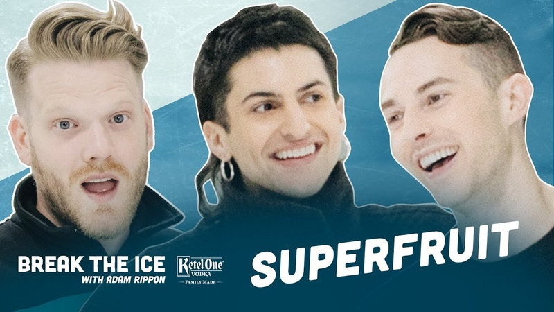 Becoming Tik Tok Famous with Superfruit   Break the Ice with Adam Rippon