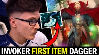 MIRACLE vs Old Meta Invoker — Blink Dagger First Item Exort Build Dota 2