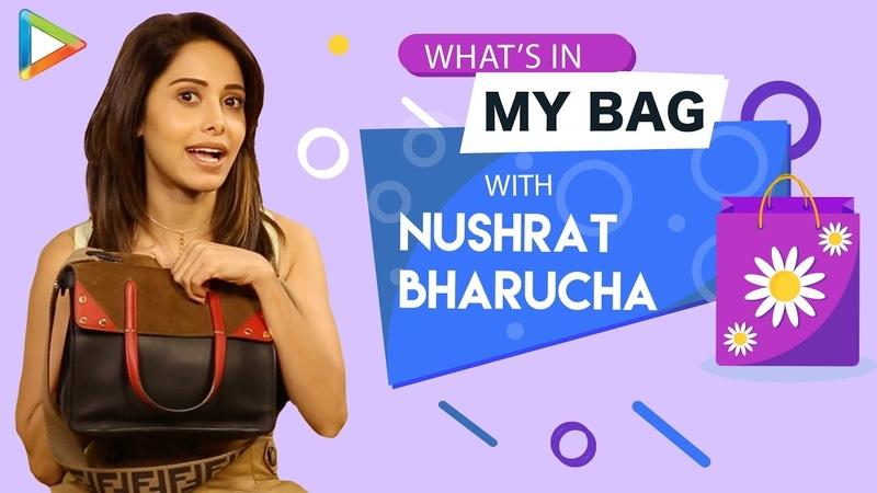 What's In My Bag With Nushrat Bharucha S01E07 Fashion Lifestyle Bollywood Hungama