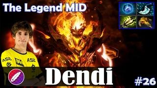 Dendi - Shadow Fiend MID | The Legend MID | ULTRA KILL | Dota 2 Pro MMR Gameplay #26