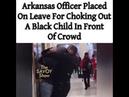 COP CHOKES OUT BLACK TEEN
