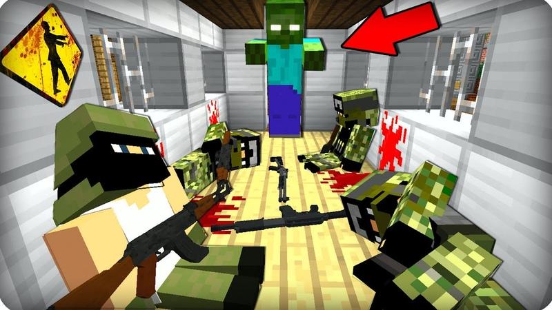 ПОЕЗД СМЕРТИ ЧТО ТАМ ЧАСТЬ 24 Зомби апокалипсис в майнкрафт Minecraft Сериал