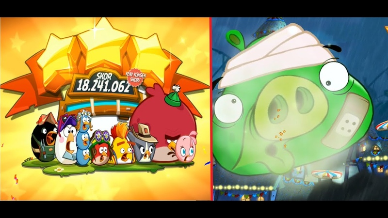 Episode 560 Tough King Pig Angry Birds 2 Will You pass