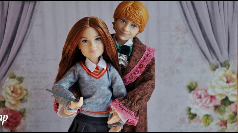 Видеообзор на новую куклу Рождественски бал Рон Уизли (Yule ball Ron Weasley)