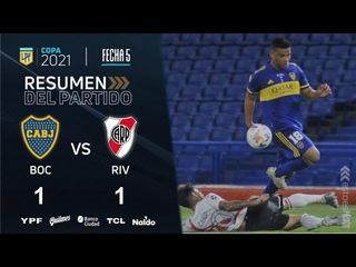 Copa De La Liga | Fecha 5 | resumen de Boca - River