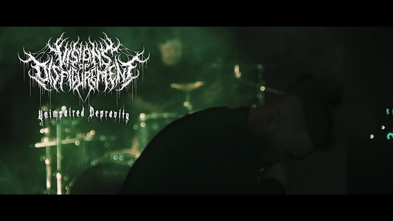VISIONS OF DISFIGUREMENT UNIMPAIRED DEPRAVITY OFFICIAL MUSIC VIDEO 2020 SW EXCLUSIVE