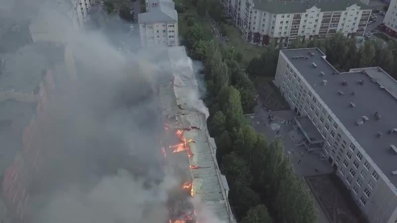 Пожар в доме по адресу Северный Власихинский 60. 10 июля 2019 (Инцидент Барнаул)