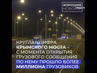 Крымский мост побил очередной рекорд