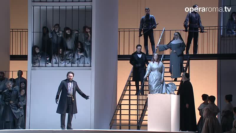 Donizetti Lucia di Lammermoor Доницетти Лючия ди Ламмермур Rome 2015