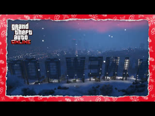 Celebrate the holidays in gta online
