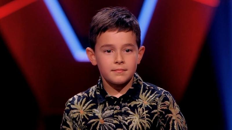 Een Uitzonderlijk Talent. Wint Silver Metz (10 jr) The Voice Kids? Anouk straalde, Ali B rapte 4K