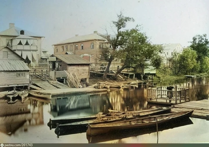 Эксклюзивные цветные фотографии Петербурга начала 20 века, изображение №11