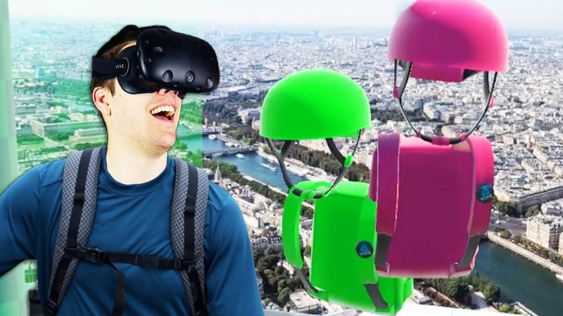 Virtual Reality Multiplayer Climbing Climbey Gameplay VR HTC Vive