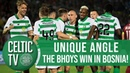 🎥 UNIQUE ANGLE Sarajevo 1 3 Celtic Mikey's belter Eddy's composure Scotty's back heel 👌