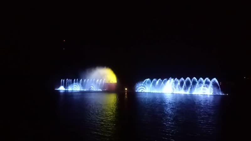 Озеро Абрау - Дюрсо. Музыкальный фонтан.