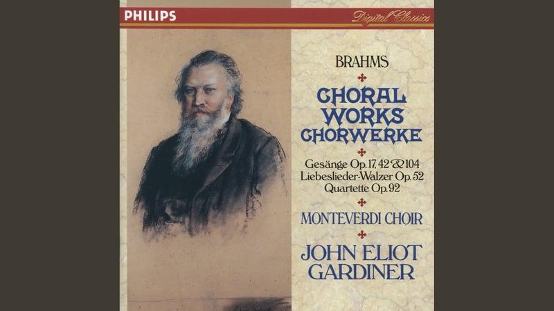 Brahms: 3 Gesänge, Op.42 - 1. Abendständchen (C. Brentano)