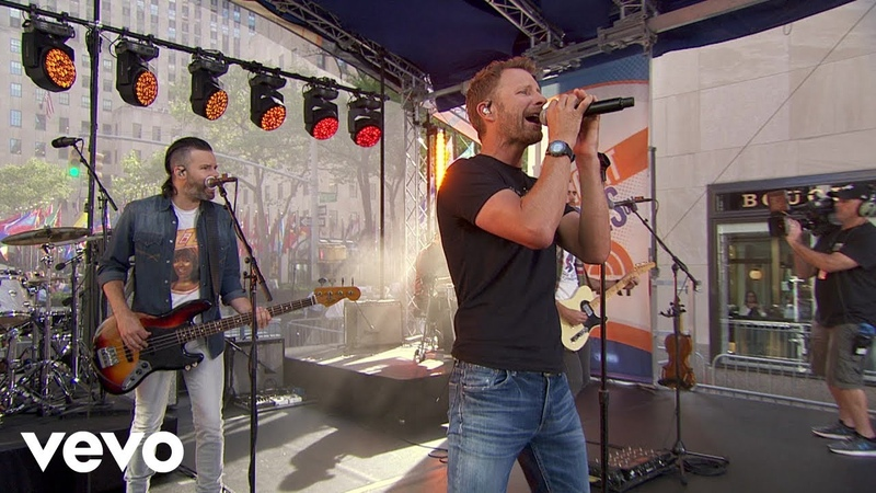 Dierks Bentley Living Live From The Today Show