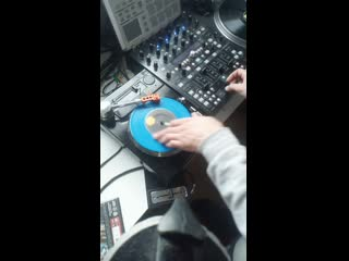 Gazz 7 inch scratch hand made turntable