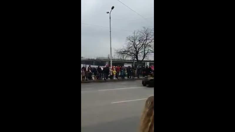 Défilé militaire en Lettonie