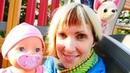 Видео про куклу Беби Бон - Как МАМА - На детской площадке