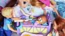 О НЕТ! МАКС ПУПСИК! Катя и Макс веселая семейка. Мультики с куклами Барби. Видео с игрушками