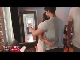 "Darren Criss and Lea Michele ""White Christmas """