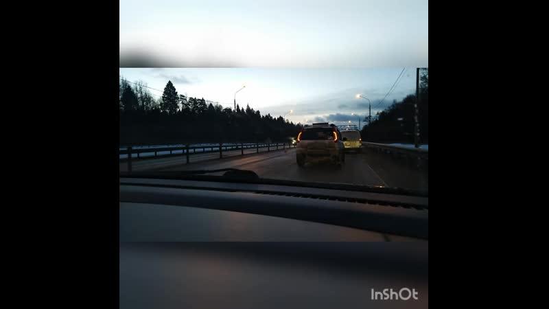 Авария в Солнечногорске утром