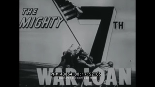 "1945 US TREASURY DEPARTMENT ""NEWS CLIPS IN SUPPORT OF U.S. WAR BOND SALES"" #2 7th WAR LOAN 43864"