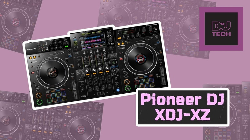 First Look Pioneer DJ XDJ XZ