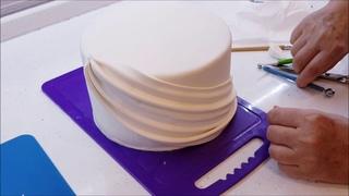 Свадебный торт в 2 яруса