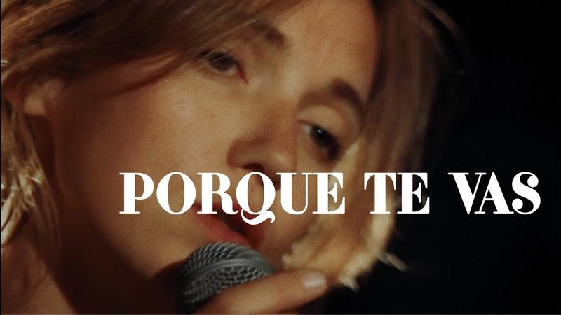 Clio - Porque te vas (live)