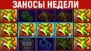 ЗАНОСЫ НЕДЕЛИ.Большие выигрыши в онлайн казино.ТОП 5 заносов.82 выпуск