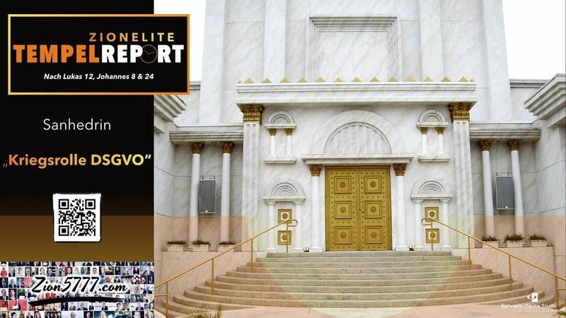 JoinFor10 Sanhedrin DNI Grenell Defender 2020 Tempel bauen
