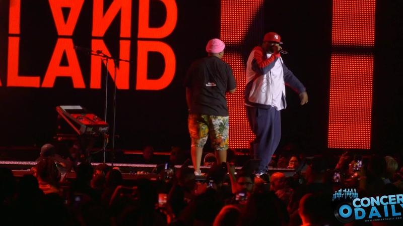 Timbaland and Magoo performs Luv 2 Luv Ya and Droplive