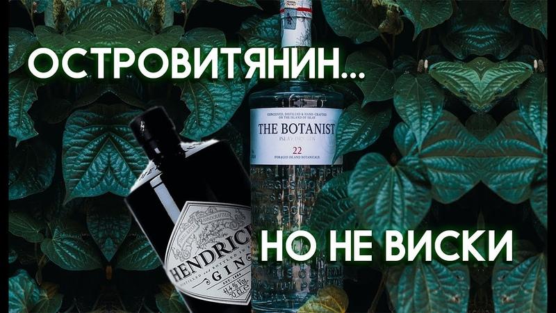 THE BOTANIST 22 Islay Dry Gin vs HENDRICKS Gin Сравнение Лучших Шотландских Джинов Женя Пьёт 35