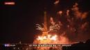 Feux d'artifice 14 juillet 2019 à Paris