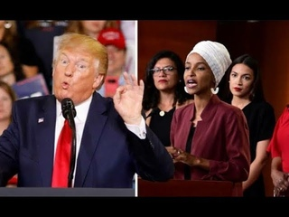 Must Watch! See What President Trump Just Said To Ilhan Omar