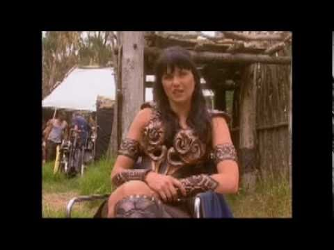 Lucy Lawless Xena and Zoe Bell Bonus Clips from Double Dare Part 2 2