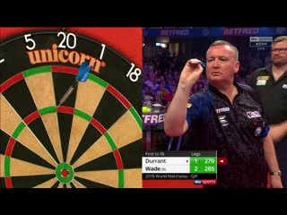 Glen Durrant vs James Wade (PDC World Matchplay 2019 / Quarter Final)