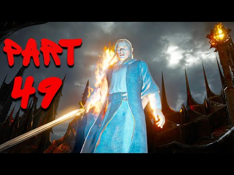 SHADOW OF WAR PART 49 CAPTURE MINAS MORGUL DEFEAT THE WITCH KING DEFEAT SAURON