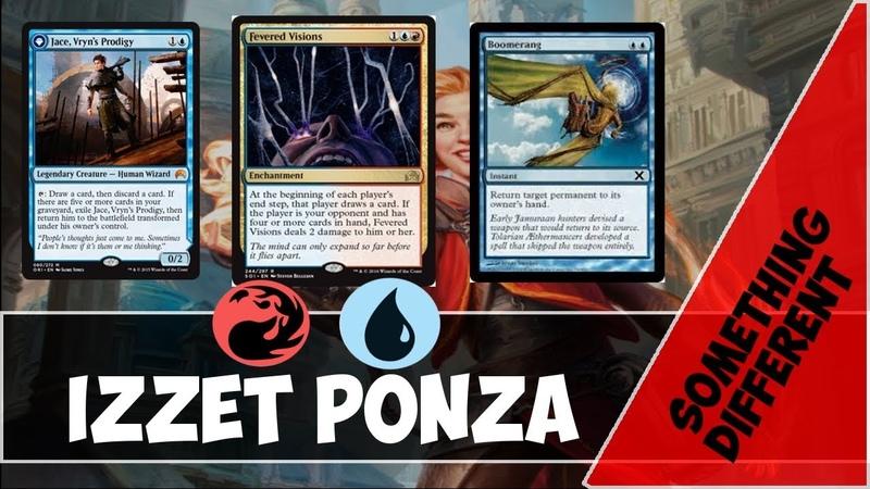 Something Different Izzet Ponza