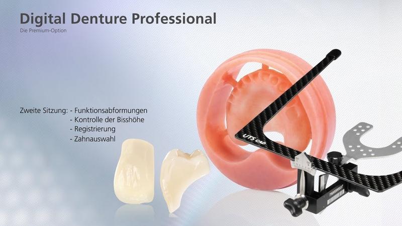 Digital Denture Professional Zweite Sitzung