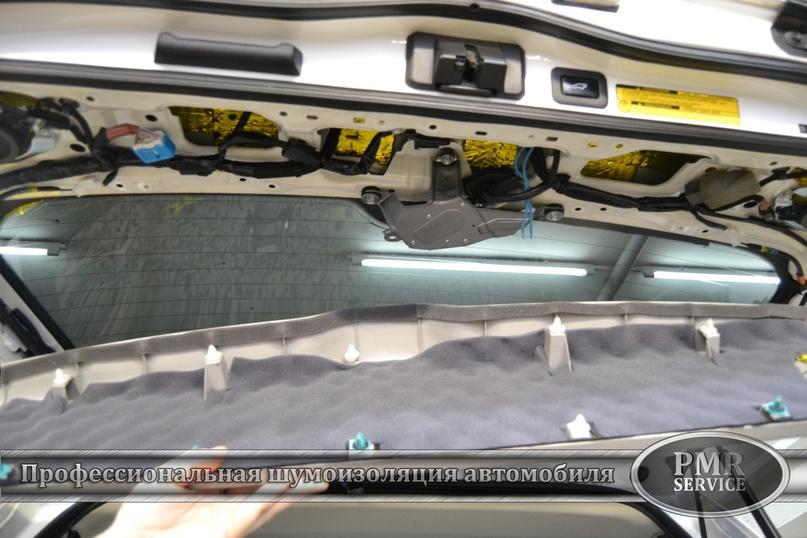 Комплексная шумоизоляция Toyota Land Cruiser 200, изображение №31
