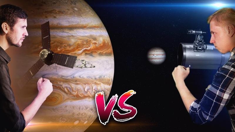 NASA против ЛЮБИТЕЛЕЙ (feat. Astro Channel) Сравнение снимков космических миссий и любительских