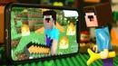 Лего НУБик против Робота и НОВОЕ Выживание Майнкрафт